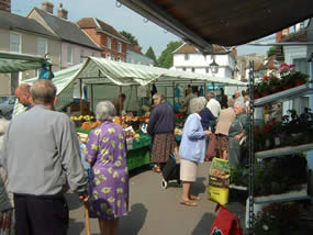 Thaxted market